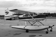Aircraft Photo of OH-CCE | Cessna A185E Skywagon 185 | Vaasan Lento | AirHistory.net #201025