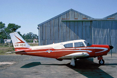 Aircraft photo of VH-RSX - Piper PA-24-180 Comanche - Royal Aero Club of NSW, taken by Ben Dannecker (via David Carter) at Sydney - Bankstown (YSBK / BWU) in New South Wales, Australia between 1960 and 1966.