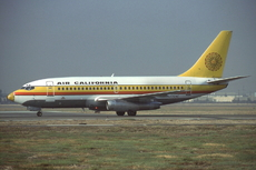 Aircraft Photo of N470AC | Boeing 737-247 | Air California | AirHistory.net #105158