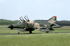 Aircraft photo of 74-1046 / AF74-046 / CR - McDonnell Douglas F-4E Dowran - USA - Air Force (32 TFS), taken by Joop de Groot Collection at Utrecht - Soesterberg (EHSB / UTC) (closed) in Netherlands in June 1978.