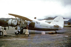 Aircraft photo of VH-GSF - Noorduyn UC-64A Norseman (VI/C-64A) - Gibbes Sepik Airways, taken in 1960 by Ben Dannecker (via David Carter).