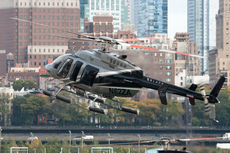 Aircraft photo of N62ZA - Bell 407 - Zip Aviation, taken by Juhani Sipilä at New York - Downtown Manhattan / Wall Street Heliport (JRB) in New York, United States on 23 October 2017. [Nikon D300s + Nikkor AF-S 70-200mm/2,8G VR + TC 17 EII]