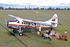 Aircraft photo of VH-EAY - De Havilland Canada DHC-3 Otter - Qantas, taken in 1959 by Ben Dannecker (via David Carter).