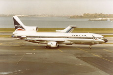 Aircraft photo of N701DA - Lockheed L-1011-385-1-14 TriStar 100 - Delta Air Lines, taken by Gerry Barron at New York - La Guardia (KLGA / LGA) in New York, United States on 22 October 1981.