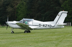 Aircraft photo of G-AZYD - Socata MS-893A Rallye Commodore 180, taken by Trevor Thornton at Seighford in England, United Kingdom on 10 May 2009.