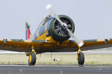 Aircraft photo of N99CV/AJ958 - North American T-6J Harvard Mk IV, taken on 20 September 2008 by Alex Christie.