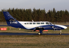 Aircraft Photo of G-FIND | Reims F406 Caravan II | RVL Aviation | AirHistory.net