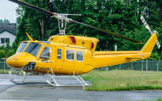 Aircraft photo of C-FZQB - Bell 212 Twin Two-Twelve, taken by Aad van der Voet at Langley - Regional (CYNJ / YLY) in British Columbia, Canada on 4 June 2006. Was soon to be acquired by Coulson Aircrane Ltd.