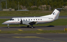Aircraft photo of HA-FAN - Embraer EMB-120ER Brasilia - Budapest Aircraft Service, taken by Pertti Sipilä at Helsinki - Vantaa (EFHK / HEL) in Finland on 9 September 2016.