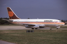 Aircraft Photo of G-BHVG | Boeing 737-2T5/Adv | Orion Airways | AirHistory.net