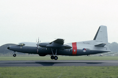 Aircraft photo of PH-EXC - Fokker F27-200MAR Maritime - Fokker, taken by Marijn Aarts (via Joop de Groot) at Utrecht - Soesterberg (EHSB / UTC) (closed) in Netherlands on 12 September 1981 during the Soesterberg Open House 1981. The F27 Maritime was still in the pre-delivery test phase when it was shown at the 1981 KLu open house. It was bound for the Caribbean where it was extensively used in search operations.
