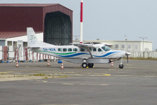 Aircraft photo of 5H-NOW - Cessna 208B Grand Caravan - Tropical Air, taken by Sir Hofma at Libreville - Leon M'Ba (FOOL / LBV / CCB) in Gabon on 25 January 2018.