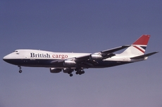 Aircraft photo of G-KILO - Boeing 747-236F/SCD - British Airways Cargo, taken by Lewis Grant at London - Heathrow (EGLL / LHR) in England, United Kingdom on 5 September 1981. BA's sole B747-200F, operated for only 18 months before being sold to Cathay Pacific.