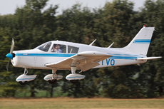 Aircraft photo of OO-TVO - Piper PA-28-140 Cherokee F, taken by Mick Bajcar at Schaffen - Diest (EBDT) in Belgium on 11 August 2018 during the International Old Timer Fly-in 2018.