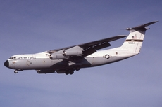 Aircraft photo of 66-0204 / 60204 - Lockheed C-141A Starlifter (L-300) - USA - Air Force (438th MAW), taken by Lewis Grant at Mildenhall (EGUN / MHZ) in England, United Kingdom on 31 October 1981.