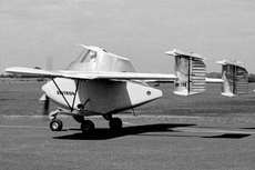 Aircraft photo of VH-TRN - Transavia PL-12 Airtruk, taken by Bob Neate / Geoff Goodall at Sydney - Bankstown (YSBK / BWU) in New South Wales, Australia on 15 April 1965. Airtruk prototype VH-TRN taxies out for take off on its maiden flight. The pilot was New Zealander Neil Johnston, who had experience on the Bennett PL-11, which had a similar configuration.