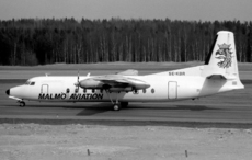 Aircraft Photo of SE-KBR | Fairchild Hiller FH-227D | Malmö Aviation | AirHistory.net