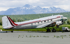 Aircraft photo of N59314 - Douglas C-47A Skytrain - Abbe Air, taken by Aad van der Voet at Palmer - Buddy Woods Municipal (PAAQ / PAQ) in Alaska, United States on 7 June 2006.