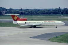Aircraft photo of LZ-BTU - Tupolev Tu-154B-2 - Palair Macedonian, taken by Streep at Düsseldorf - International (EDDL / DUS) in Germany on 22 May 1993.