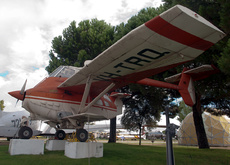 Aircraft photo of VH-TRQ - Transavia PL-12T-320 Airtruk, taken by Peter de Jong at Cuatro Vientos / Museo del Aire [ Off-Airport ] in Spain on 4 October 2013 at the Museo del Aire. Aussie oddbal at the Museo del Aire.