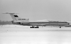 Aircraft photo of CCCP-85366 - Tupolev Tu-154B-2 - Aeroflot, taken by Pertti Sipilä at Helsinki - Vantaa (EFHK / HEL) in Finland on 4 March 1984. Later RA-85366
