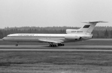 Aircraft photo of CCCP-85414 - Tupolev Tu-154B-2 - Aeroflot, taken by Pertti Sipilä at Helsinki - Vantaa (EFHK / HEL) in Finland on 17 May 1987. Later RA-85414