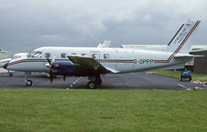 Aircraft Photo of G-OPPP | Embraer EMB-110P1 Bandeirante | Streamline Aviation | AirHistory.net