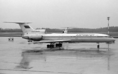 Aircraft photo of CCCP-85441 - Tupolev Tu-154B-2 - Aeroflot, taken by Pertti Sipilä at Helsinki - Vantaa (EFHK / HEL) in Finland on 13 May 1989. Later RA-85441 by Pulkovo and Rossiya