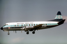 Aircraft Photo of G-AZNC | Vickers 813 Viscount | British Midland Airways - BMA | AirHistory.net #124112