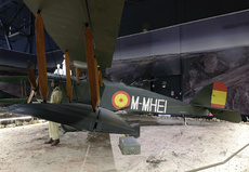 Aircraft photo of M-MHEI - Airco DH-4 (replica), taken by David Unsworth at Madrid - Cuatro Vientos (LECU / LEVS) in Spain on 3 January 2018 at the Museo del Aire.