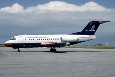 Aircraft Photo of C-GTIZ | Fokker F28-1000C Fellowship | Canadian Regional Airlines | AirHistory.net
