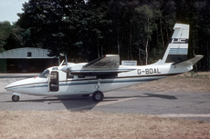 Aircraft photo of G-BDAL - Aero Commander 500S Shrike Commander, taken by Paul Seymour at Biggin Hill (EGKB / BQH) in England, United Kingdom on 10 July 1976.