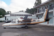 Aircraft photo of TG-IGM - Rockwell 500S Shrike Commander - Instituto Geografico Nacional Guatemala, taken by Paul Seymour at Guatemala - La Aurora (MGGT / GUA) in Guatemala on 28 November 1996.