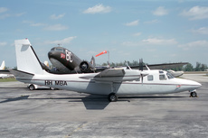 Aircraft photo of HH-MBA - Rockwell 685 Commander, taken by Paul Seymour at Miami - Opa-locka Executive (KOPF / OPF) in Florida, United States on 3 April 1995.