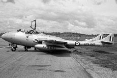 Aircraft Photo of A79-645 | De Havilland D.H. 115 Vampire T35 | Australia - Air Force | AirHistory.net #125524
