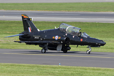 Aircraft photo of ZK023 / N - BAE Systems Hawk T2 - UK - Air Force (4 Sqn), taken by Ian Howat at Glasgow - Prestwick (EGPK / PIK) in Scotland, United Kingdom on 25 May 2018.