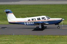 Aircraft photo of G-BRHA - Piper PA-32RT-300 Lance II, taken by Ian Howat at Glasgow - Prestwick (EGPK / PIK) in Scotland, United Kingdom on 24 May 2018.