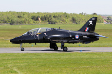 Aircraft photo of XX189 / CR - Hawker Siddeley Hawk T1A (HS-1182) - UK - Air Force (100 Sqn), taken by Ian Howat at Glasgow - Prestwick (EGPK / PIK) in Scotland, United Kingdom on 23 May 2018.