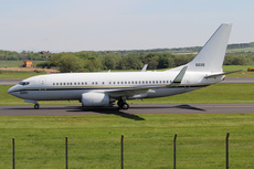 Aircraft photo of 166695 / 6695 - Boeing C-40A Clipper (737-7AFC) - USA - Navy, taken by Ian Howat at Glasgow - Prestwick (EGPK / PIK) in Scotland, United Kingdom on 23 May 2018.