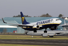 Aircraft photo of EI-FRC - Boeing 737-8AS - Ryanair, taken by David Unsworth at Glasgow - Prestwick (EGPK / PIK) in Scotland, United Kingdom on 15 February 2019.