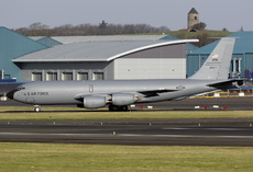 Aircraft photo of 62-3577 - Boeing KC-135R Stratotanker (717-148) - USA - Air Force (AFRC), taken by David Unsworth at Glasgow - Prestwick (EGPK / PIK) in Scotland, United Kingdom on 15 February 2019.