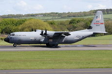 Aircraft photo of 06-8159 / 68159 - Lockheed Martin C-130J-30 Hercules (L-382) - USA - Air Force, taken by Ian Howat at Glasgow - Prestwick (EGPK / PIK) in Scotland, United Kingdom on 17 May 2018.