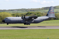 Aircraft photo of 03-8154 / 38154 - Lockheed Martin C-130J-30 Hercules (L-382) - USA - Air Force, taken by Ian Howat at Glasgow - Prestwick (EGPK / PIK) in Scotland, United Kingdom on 17 May 2018.