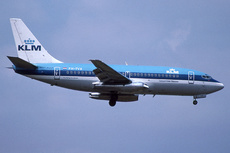 Aircraft Photo of PH-TVX | Boeing 737-2T5/Adv | KLM - Royal Dutch Airlines | AirHistory.net