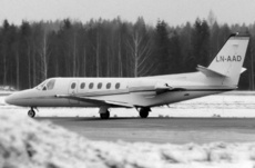 Aircraft Photo of LN-AAD | Cessna 550 Citation II | AirHistory.net