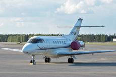 Aircraft Photo of CS-DNL | Raytheon Hawker 800XP | NetJets | AirHistory.net #128949