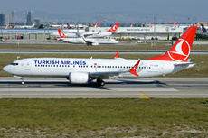 Aircraft Photo of TC-LCF | Boeing 737-8 Max 8 | Turkish Airlines | AirHistory.net