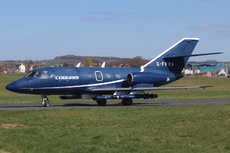 Aircraft Photo of G-FFRA | Dassault Falcon 20DC | Cobham Aviation Services | AirHistory.net
