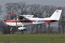 Aircraft Photo of PH-WBR | Cessna 175C | AirHistory.net