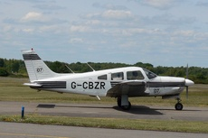 Aircraft Photo of G-CBZR | Piper PA-28R-201 Arrow | AirHistory.net